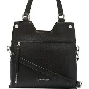 Calvin klein handbag shoulder bag black